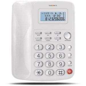 Телефонный аппарат TEXET TX-250 белый