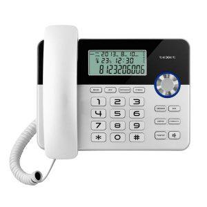 Телефонный аппарат TEXET TX-259 черный-серебристый