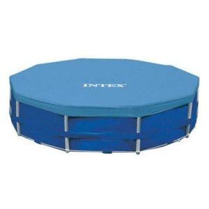 Тент-чехол Intex для каркасных бассейнов 457 см 28032/58901