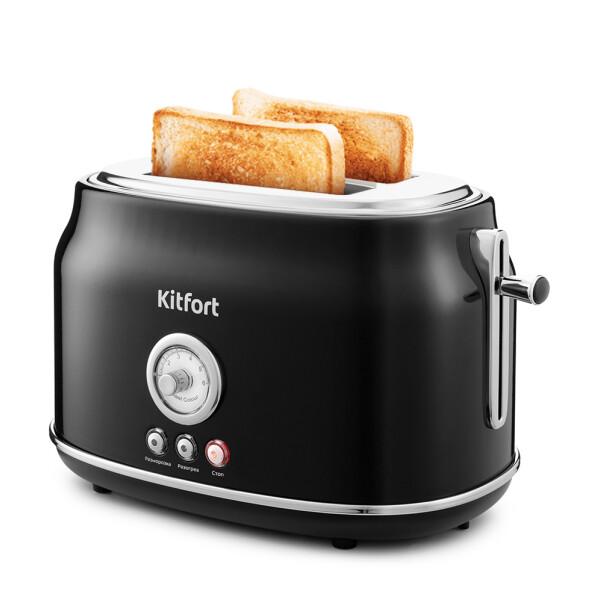 Тостер Kitfort КТ-2038-1 (черный)