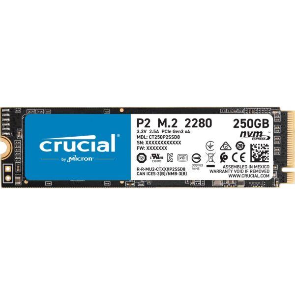 Твердотельный накопитель (SSD) Crusial P2 250GB CT250P2SSD8