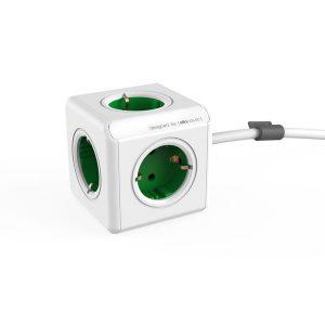 Удлинитель ALLOCACOC PowerCube Extended 1300GN/DEEXPC (зеленый)