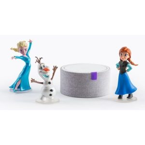 Умная колонка YANDEX Станция Мини (YNDX-0004S) белый + Три игрушки серии Disney. Холодное сердце