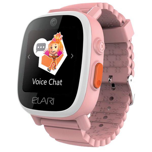 Умные часы ELARI FixiTime 3 (FT-301) розовый
