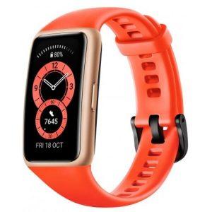 Умный браслет HUAWEI Band 6 (оранжевый)