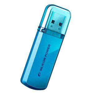 USB Flash Silicon-Power Helios 101 32Гб SP032GBUF2101V1B (синий)