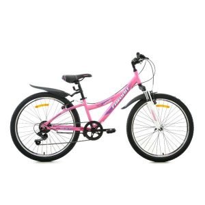 Велосипед Favorit Space 24V-AL (розовый)