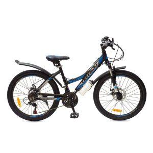 Велосипед Greenway 4930M 24 (черный/синий)