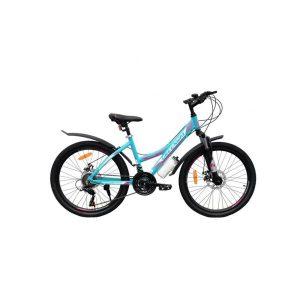 Велосипед Greenway 4930M 24 (голубой/розовый)