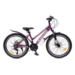 Велосипед Greenway Colibri-H 24 (фиолетовый/розовый)