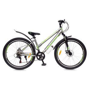 Велосипед Greenway Colibri-H 24 (серый/зеленый)