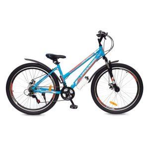 Велосипед Greenway Colibri-H 27.5 (голубой/оранжевый)