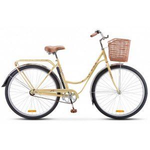 Велосипед Stels Navigator 325 Lady 28 Z010 2020 (слоновая кость/коричневый)