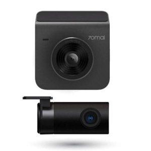 Видеорегистратор 70mai Dash Cam A400 + камера заднего вида RC09 (серый)