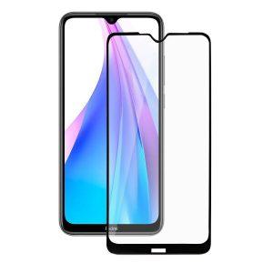 Защитное стекло Fullscreen full glue Akami для Xiaomi Redmi Note 8T Черный (9719)