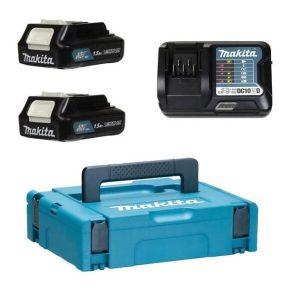 Аккумулятор с зарядным устройством Makita BL1016 + DC10WD (12В/1.5 Ah + 10.8-12В)