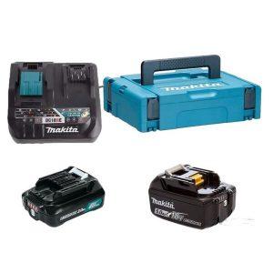 Аккумулятор с зарядным устройством Makita BL1021B + DC10SB (12В/2.0 Ah + 12В)
