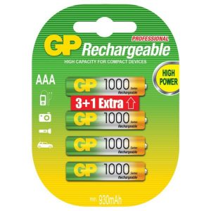 Аккумуляторы GP 100AAAHCBB-2PLC4 4BP