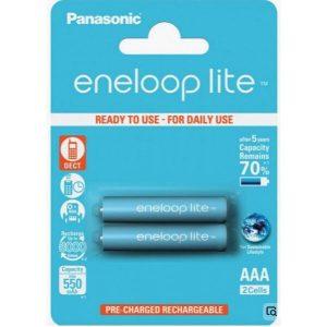 Аккумуляторы Panasonic Eneloop BK-4LCCE/2DE