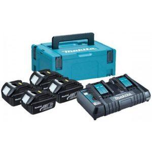 Аккумуляторы с зарядным устройством Makita BL1860B + DC18RC (198094-8)