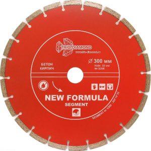 Алмазный диск Trio-diamond S208 300*32