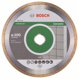 Алмазный отрезной диск Bosch Standard for Ceramic прямой 2.608.602.537