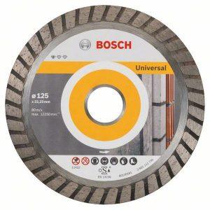 Алмазный отрезной диск Bosch Standard for Universal Turbo прямой 2.608.602.394
