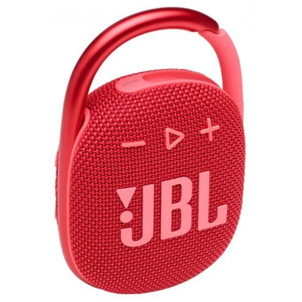 Беспроводная колонка JBL Clip 4 (красный)