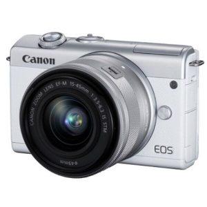Беззеркальный фотоаппарат Canon EOS M200 Kit 15-45mm (белый)