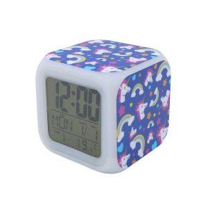 Часы Pixel Crew Единорог с подсветкой №11 (MM09404)