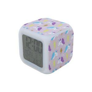 Часы Pixel Crew Единорог с подсветкой №12 (MM09405)