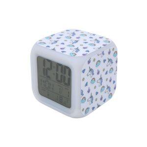 Часы Pixel Crew Единорог с подсветкой №21 (MM09414)