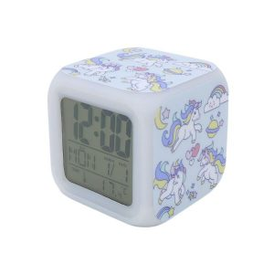 Часы Pixel Crew Единорог с подсветкой №9 (MM09402)