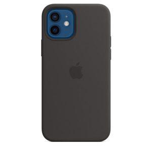 Чехол Apple MagSafe Silicone Case для iPhone 12/12 Pro (белый) MHL73ZM/A