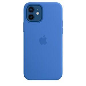 Чехол Apple MagSafe Silicone Case для iPhone 12/12 Pro (капри) MJYY3ZE/A