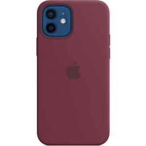 Чехол Apple MagSafe Silicone Case для iPhone 12/12 Pro (сливовый) MHL23ZE/A