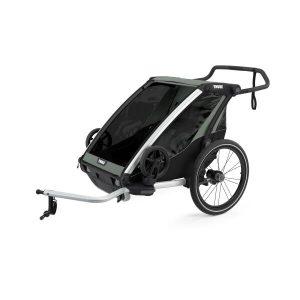 Детский велоприцеп Thule Chariot Lite 2 (зеленый/черный)
