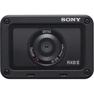Экшен камера SONY DSC-RX0M2G черный