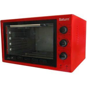 Электропечь Saturn ST-EC 3801 (красный)