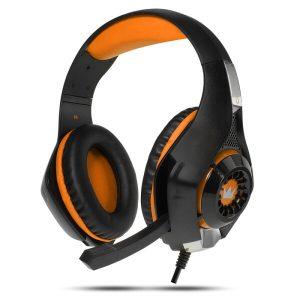 Гарнитура игровая CROWN CMGH-101T Black&orange