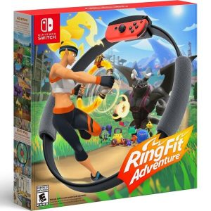 Игра Ring Fit Adventure (английский язык) + Ring-Con для Nintendo Switch