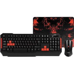 Игровой набор (клавиатура + мышь с ковриком) SVEN CHALLENGE 9000 COMBO