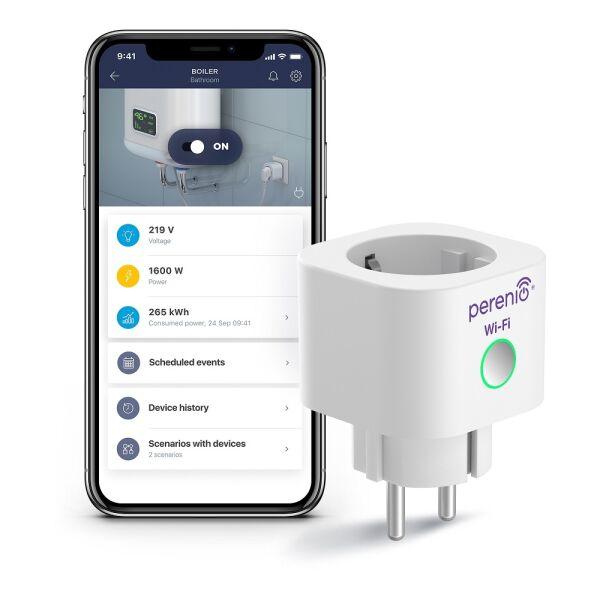 Интеллектуальная розетка Power Link Wi-Fi PEHPL10