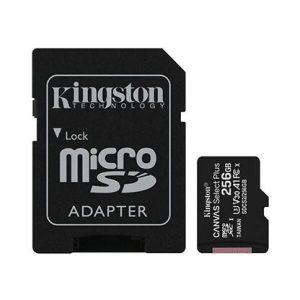 Карта памяти Kingston Canvas Select Plus microSD 256GB (SDCS2/256GB)