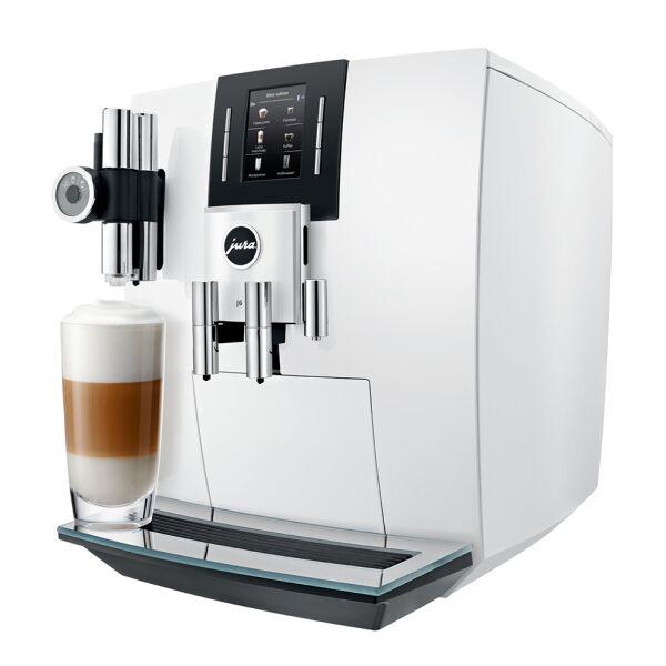 Кофемашина JURA J6 белый
