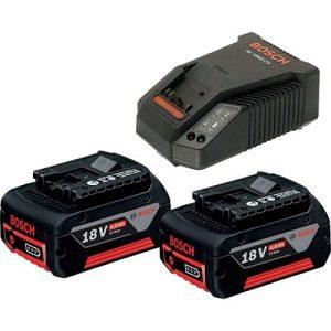 Комплект аккумуляторов с зарядным устройством Bosch BA 18V+GAL 18V-40 (1600A019S0)