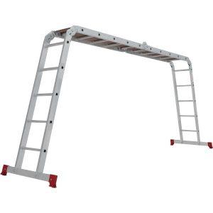 Лестница-трансформер с помостом Новая высота NV200 2330405