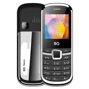 Мобильный телефон BQ-Mobile BQ-1415 Nano (черный/серебристый)
