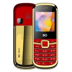 Мобильный телефон BQ-Mobile BQ-1415 Nano (красный/золотистый)