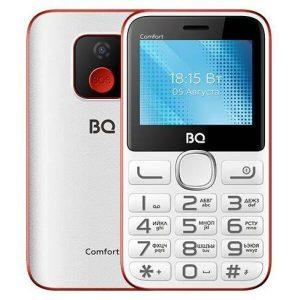 Мобильный телефон BQ-Mobile BQ-2301 Comfort (белый/красный)